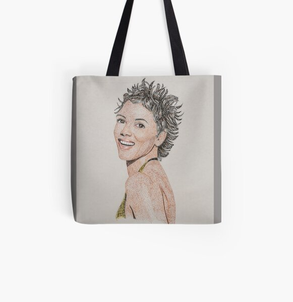 Halle - 2 All Over Print Tote Bag