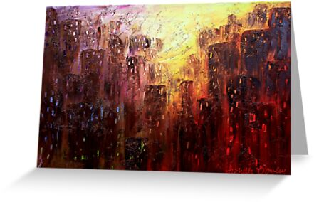 In the Midst of the City by Abstract D'Oyley