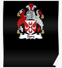 Spry Coat of Arms - Family Crest Shirt Poster