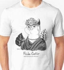 #meowdernart - Frida Catlo Unisex T-Shirt