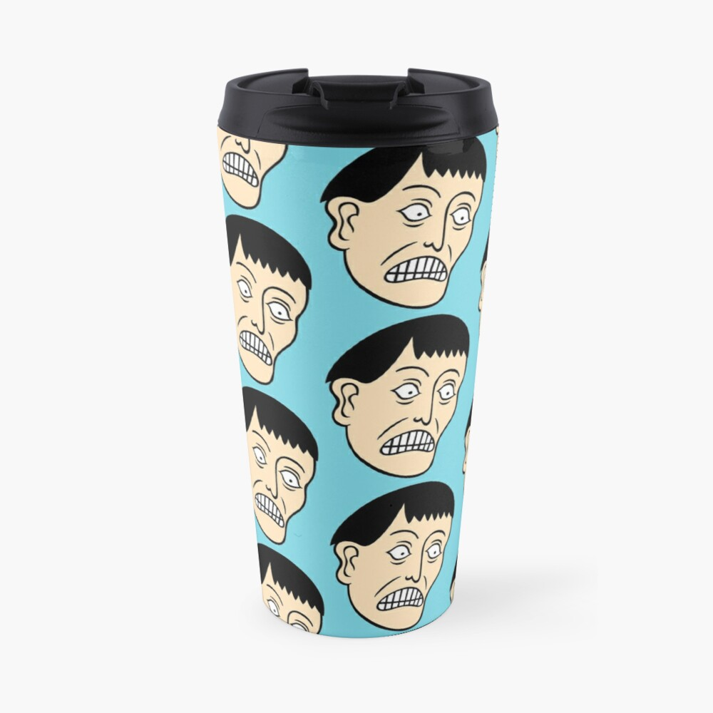 Looking down on the face of the earth Travel Mug