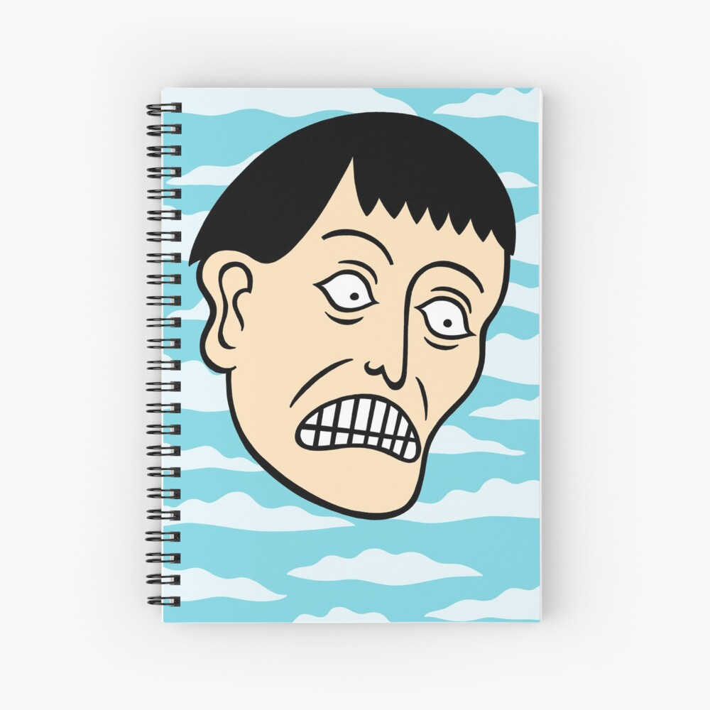 Looking down on the face of the earth Spiral Notebook