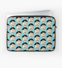 Looking down on the face of the earth Laptop Sleeve
