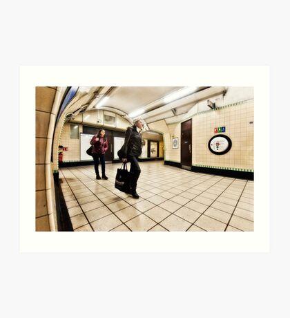 Wood Green Tube Station Art Print