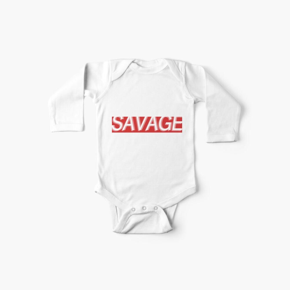 SAVAGE Baby Bodys