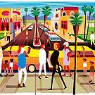 Palm Desert Shopping by Charles Harker