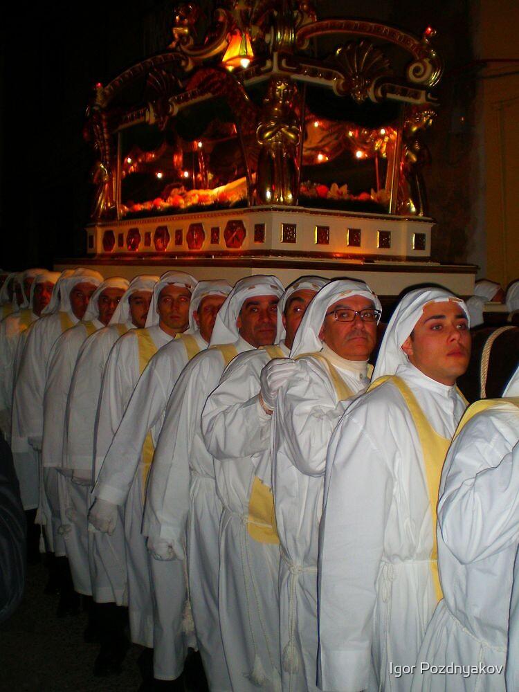 Enna, Sicily. Easter Procession III 2006  by Igor Pozdnyakov