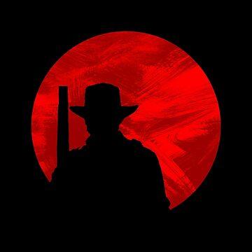 Red Dead Cowboy Arthur Moon Shirt by LadyCyprus