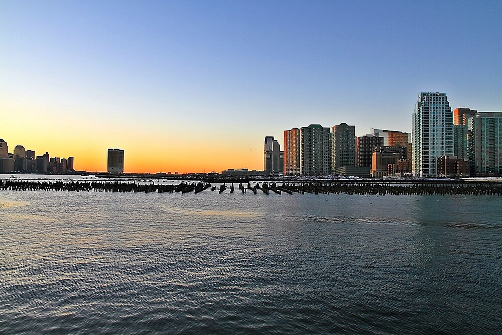Merry Christmass From A Cold Jersey City ! by pmarella