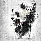 Angry Panda by Emiliano Morciano