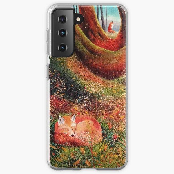Sleeping Fox (2) Samsung Galaxy Soft Case