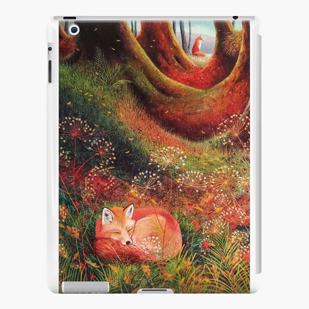 Sleeping Fox (2) iPad Cases & Skins