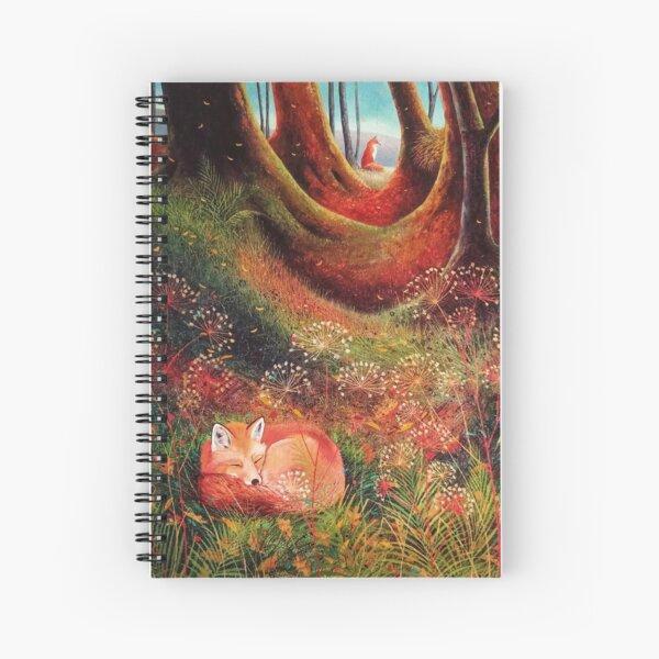 Sleeping Fox (2) Spiral Notebook