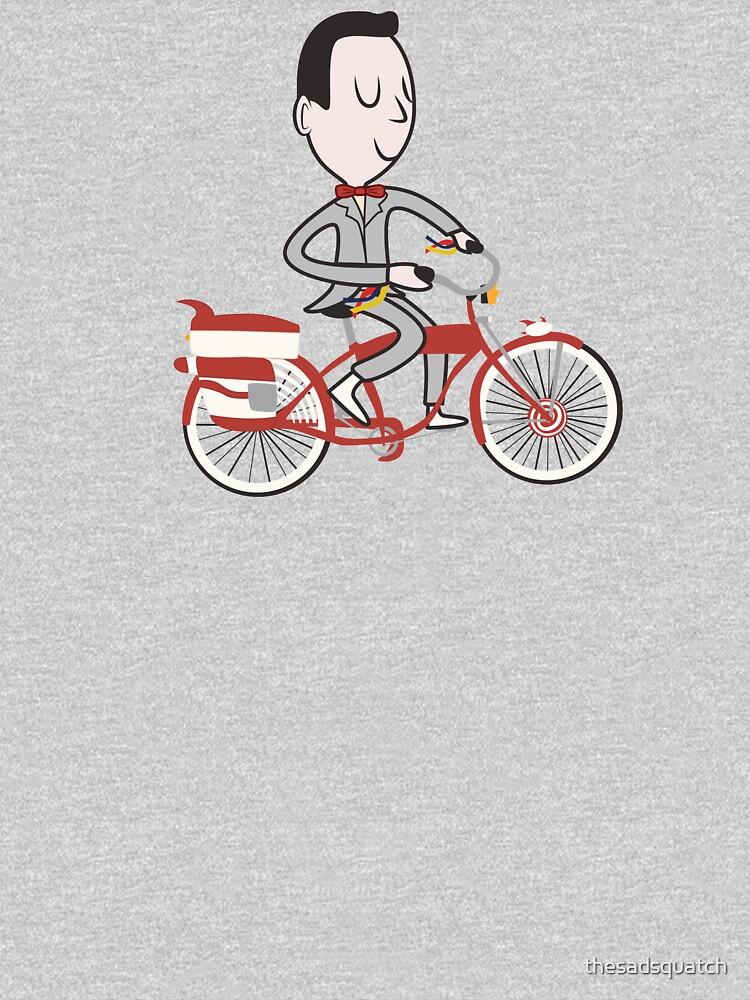 My Bike - Pee Wees Big Adventure by thesadsquatch