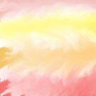 Warm Watercolor Pattern by Samm Poirier
