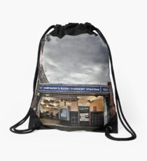 Shepherd's Bush Market Tube Station Drawstring Bag