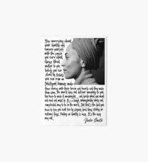 Zadie Smith Art Board