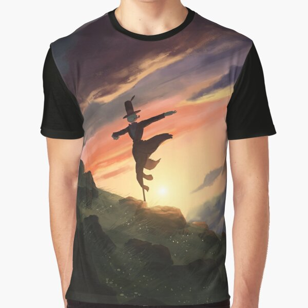 Howl's Scarecrow Graphic T-Shirt