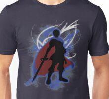 Super Smash Bros. Blue Marth Silhouette Unisex T-Shirt