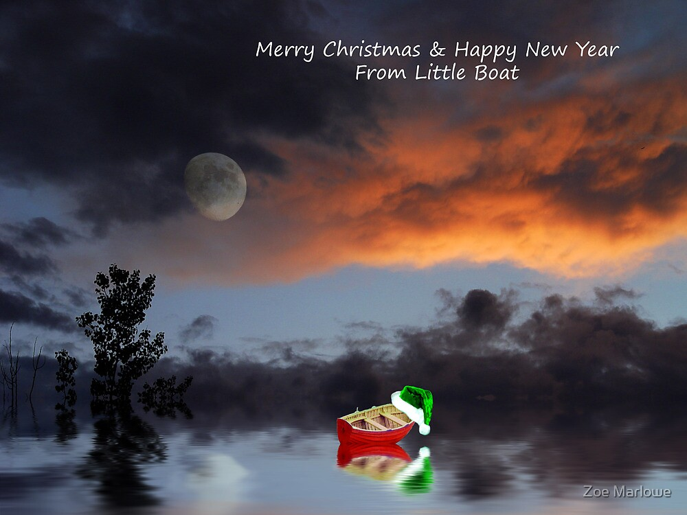 Merry Christmas From Little Boat by Zoe Marlowe