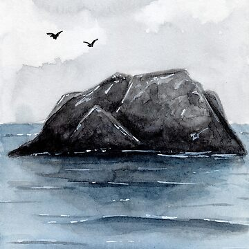 Calm - Watercolour Painting by patti2905