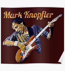 Mark artistic painting Poster