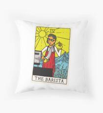 The Barista Tarot Card Floor Pillow