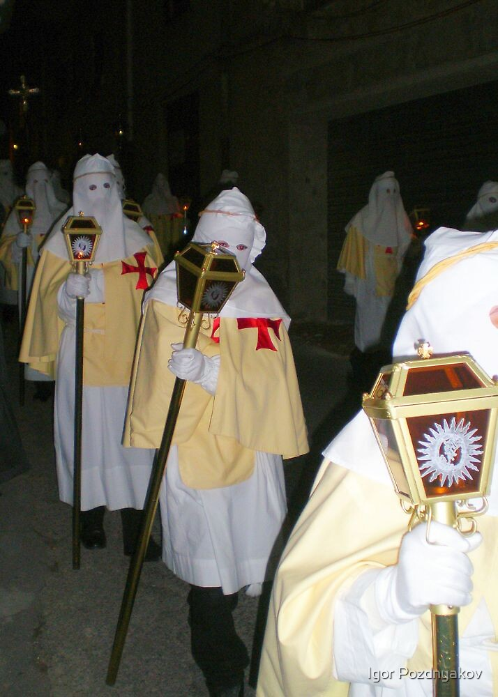 Enna, Sicily. Easter Procession VII 2006  by Igor Pozdnyakov