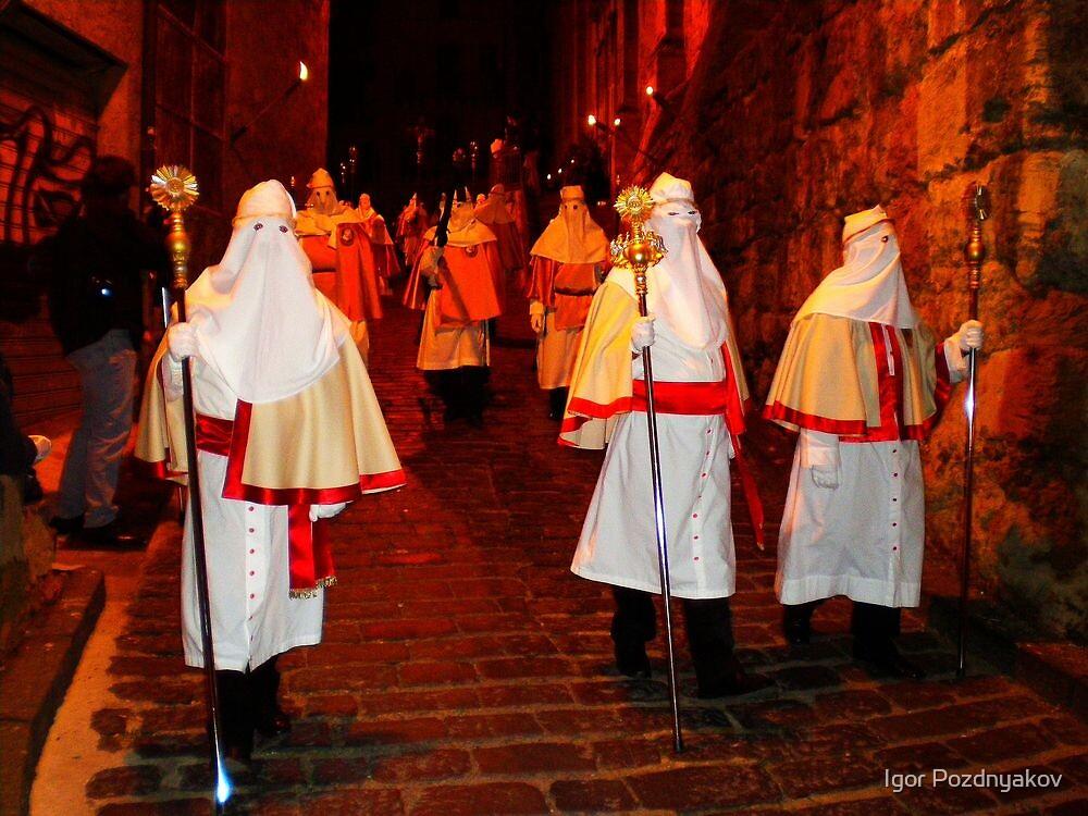 Enna, Sicily. Easter Procession VIII 2006  by Igor Pozdnyakov