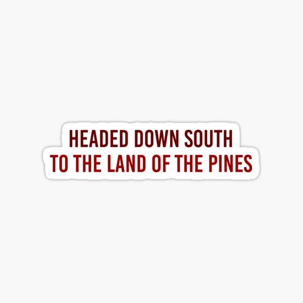 Headed Down South - Wagon Wheel - Old Crow Medicine Show Sticker