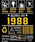 Birthday Gift Ideas - Born In 1988 by wantneedlove