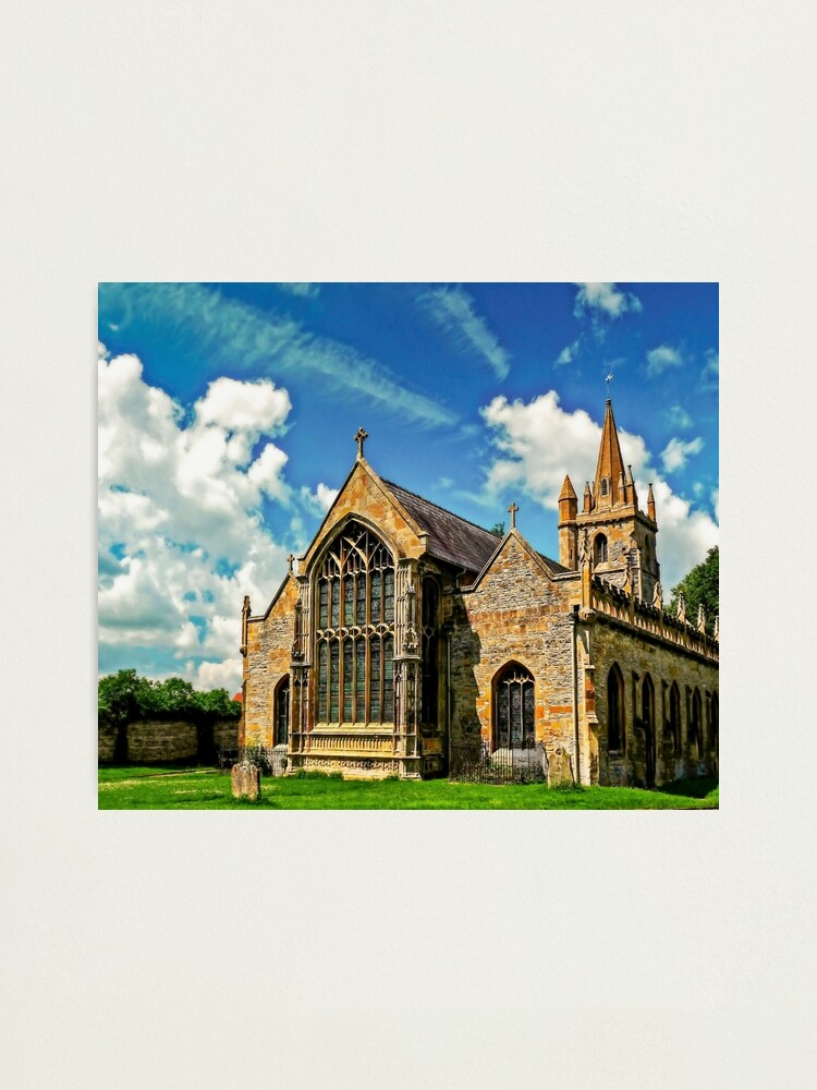 Alternate view of St Lawrences Church Photographic Print