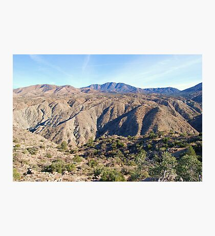 Santa Rosa Mountains Photographic Print