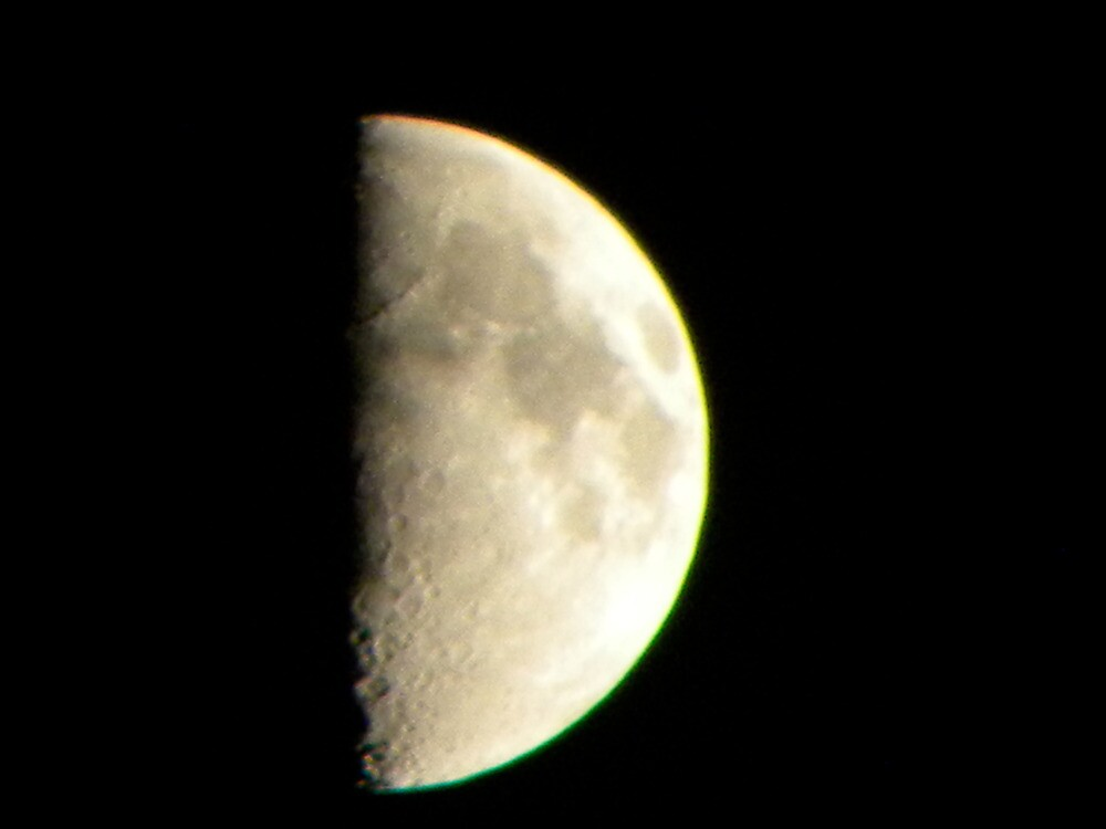 Christmas Eve Moon by 37giggles