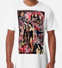 Aaliyah Poster Long T-Shirt