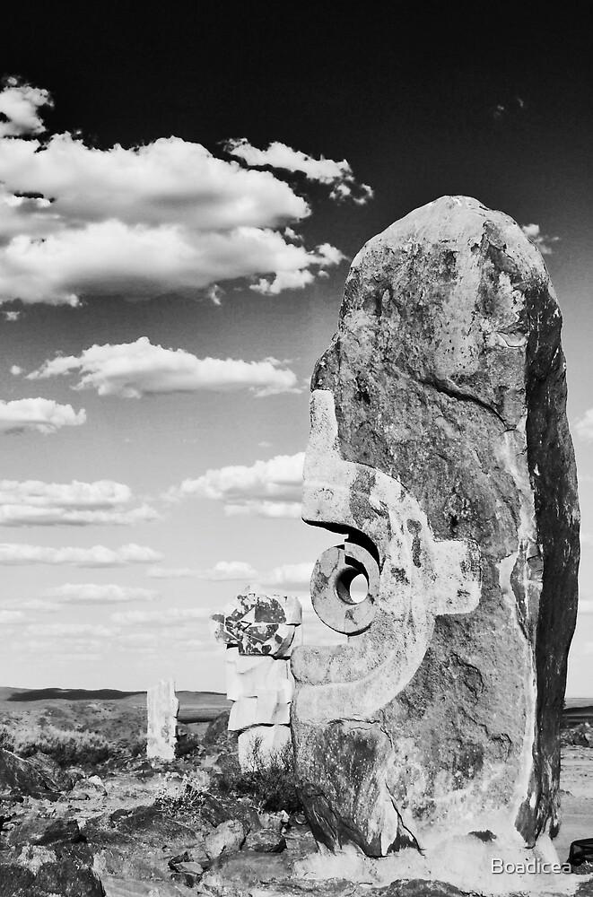 Desert Sculpture by Boadicea