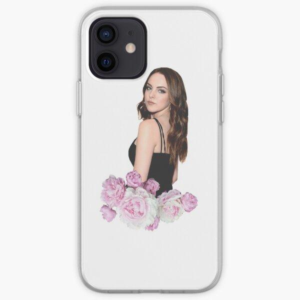 Liz Gillies Purple Floral iPhone Soft Case