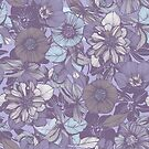 Hellebore lineart florals | soft winter by camcreativedk