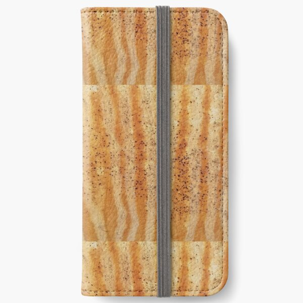 Orange Rusty Stripes iPhone Wallet