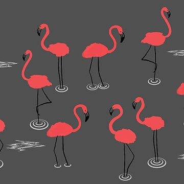 The Pink Flamingos by rogue-design