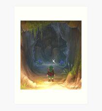 The Great Deku Tree Dungeon Entrance Art Print