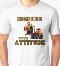 Diggers With Attitude, Funny T-Shirt