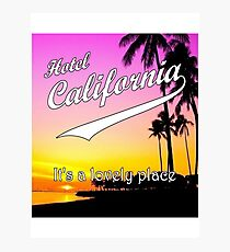 Hotel California Photographic Print