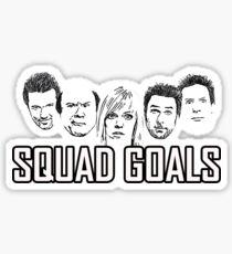 Squad Goals  Sticker