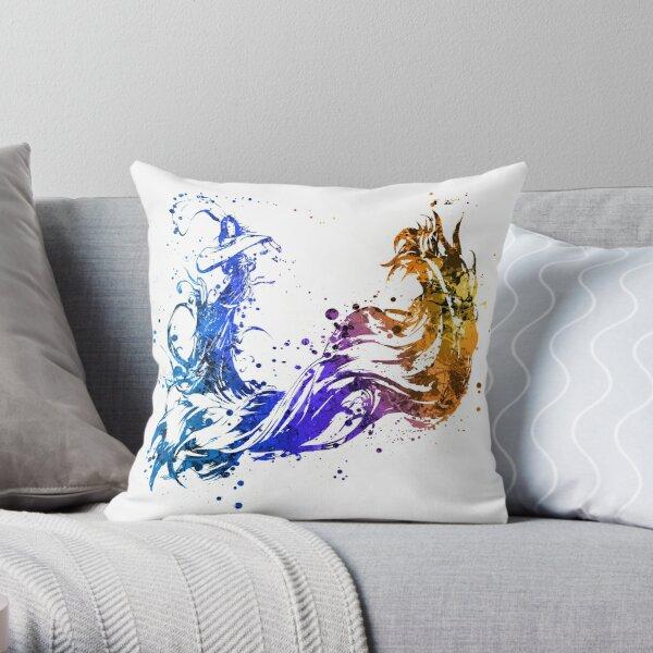 Final Fantasy X Splatter (Lite) Throw Pillow