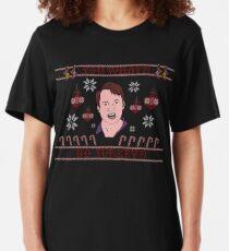 Peep Show Christmas  Slim Fit T-Shirt