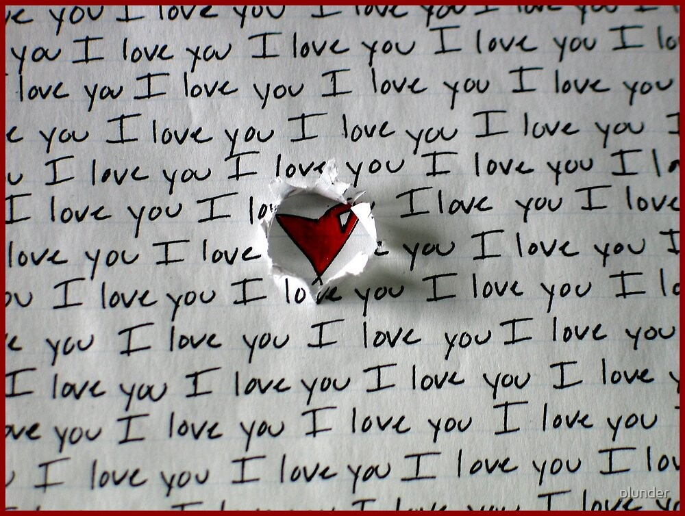 I love You by plunder
