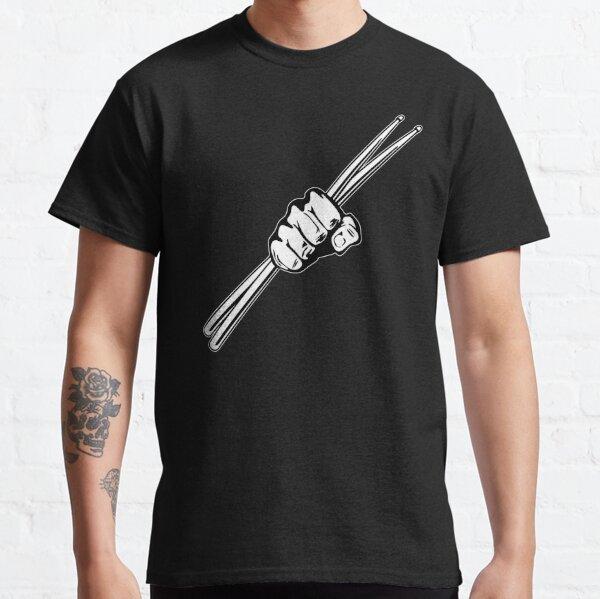 Drum Sticks Fist Punch Classic T-Shirt