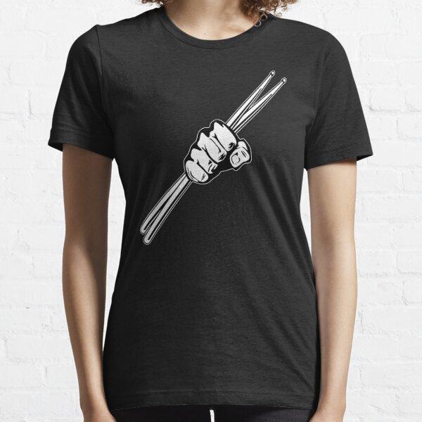 Drum Sticks Fist Punch Essential T-Shirt
