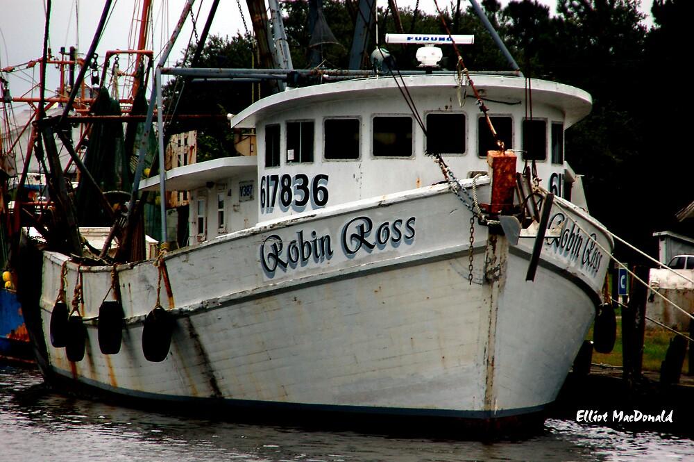 Robin Ross - shrimp boat by Elliot MacDonald